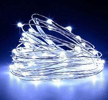 Asupermall - 16FT 50LEDs String Lights USB Fairy