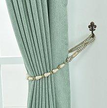 Asupermall - 1Pair Curtain Tiebacks Rope Drapery