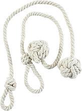 Asupermall - 1Pair Curtain Tiebacks Rope Round