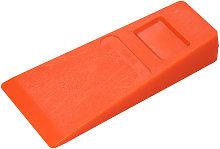 Asupermall - 1Pc 14cm Orange Plastic Felling Wedge