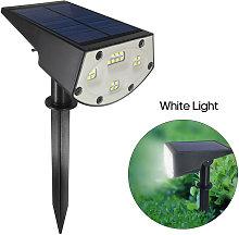 Asupermall - 20LED Solar Powered Lawn Lamp Solar