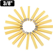 Asupermall - 20pcs 3/8 Inch Metal Lathe Tooling