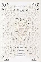 Asupermall - 20Pcs Pearl Paper Laser Cut Wedding