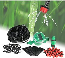 Asupermall - 25m Micro Drip Irrigation System with