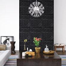 Asupermall - 3D Wallpaper Bricks Self-adhesive 10