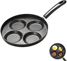 Asupermall - 4-Cup Egg Frying Pan Non Stick Egg