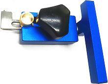 Asupermall - 45# Slide Chute Stop Block Aluminum