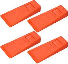 Asupermall - 4Pcs 14cm Orange Plastic Felling