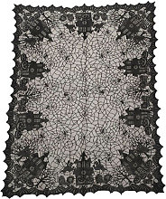 Asupermall - 53x69 Inch Lace Ghosts Pumpkins