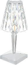 Asupermall - Acrylic Diamond Table Lamp 3 Lighting