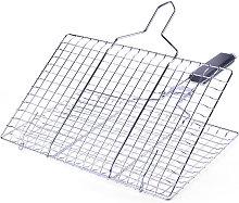Asupermall - BBQ grill net, detachable folding