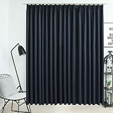 Asupermall - Blackout Curtain with Hooks