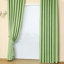Asupermall - Blackout Curtains Sliding Patio Door Curtain for Living Room Window Patio Door 51,model:Green 100cmX130cm