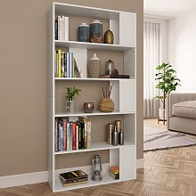 Asupermall - Book Cabinet/Room Divider White