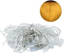 Asupermall - BZ1641 Love Shape Pearlescent Curtain