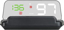 Asupermall - Car HUD Display, GPS Smart Gauge High