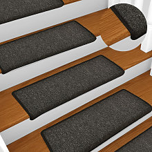 Asupermall - Carpet Stair Treads 15 pcs 65x25 cm