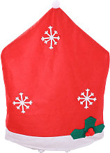 Asupermall - Christmas Chair Covers Tablecloth