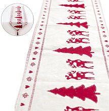 Asupermall - Christmas Embroidered Table Runner