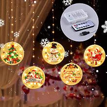 Asupermall - Christmas Hanging Light Waterproof