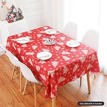 Asupermall - Christmas Printed Tablecloth Table