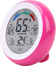 Asupermall - Circular household digital hygrometer