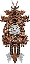 Asupermall - Cuckoo Wall Clock Bird Wood Hanging