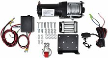 Asupermall - Electric Winch 1360 KG with Plate