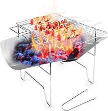 Asupermall - Folding Barbecue Grill Camp Grill