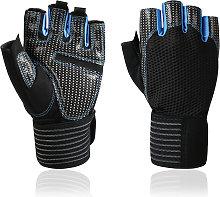 Asupermall - Full Wrist Protection Fitness Gloves