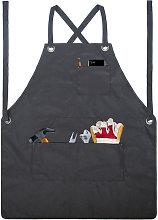 Asupermall - Garden Tool Apron with Pockets