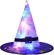 Asupermall - Halloween Hat Hanging Lighted Led Hat