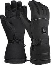 Asupermall - Heating Warm Gloves Electric Ski