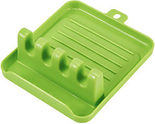 Asupermall - Kitchen Utensil Rest with 4 Slots to