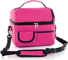 Asupermall - Large Insulated Lunch Bag Heat