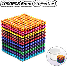 Asupermall - Magnetic Ball Set Magic Magnet Cube