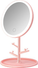 Asupermall - Makeup Mirror Round Shape with Lamp 3
