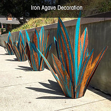 Asupermall - Metal Agave Plant Decoration Home