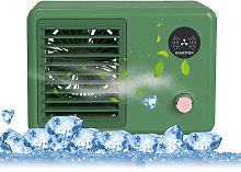 Asupermall - Mini desktop humidifying spray fan,