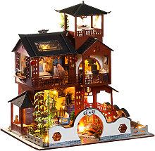 Asupermall - Miniature Dollhouse DIY House Kit
