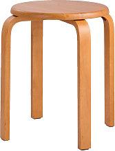 Asupermall - Modern K/D Rubber Wooden Stools
