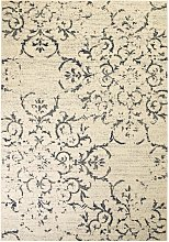 Asupermall - Modern Rug Floral Design 140x200 cm