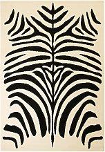Asupermall - Modern Rug Zebra Design 140x200 cm
