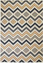 Asupermall - Modern Rug Zigzag Design 160x230 cm