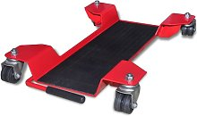 Asupermall - Motorcycle Dolly Centre Stand Red