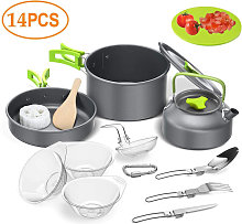Asupermall - Outdoor Camping Hiking Cookware