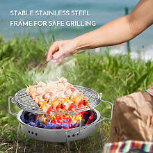 Asupermall - Outdoor Stainless Steel Grill