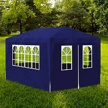 Asupermall - Party Tent 3x4 m Blue