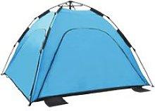 Asupermall - Pop Up Beach Tent 220x220x160 cm Blue