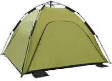 Asupermall - Pop Up Beach Tent 220x220x160 cm Green